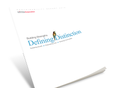 Building Strengths, Defining Distinction